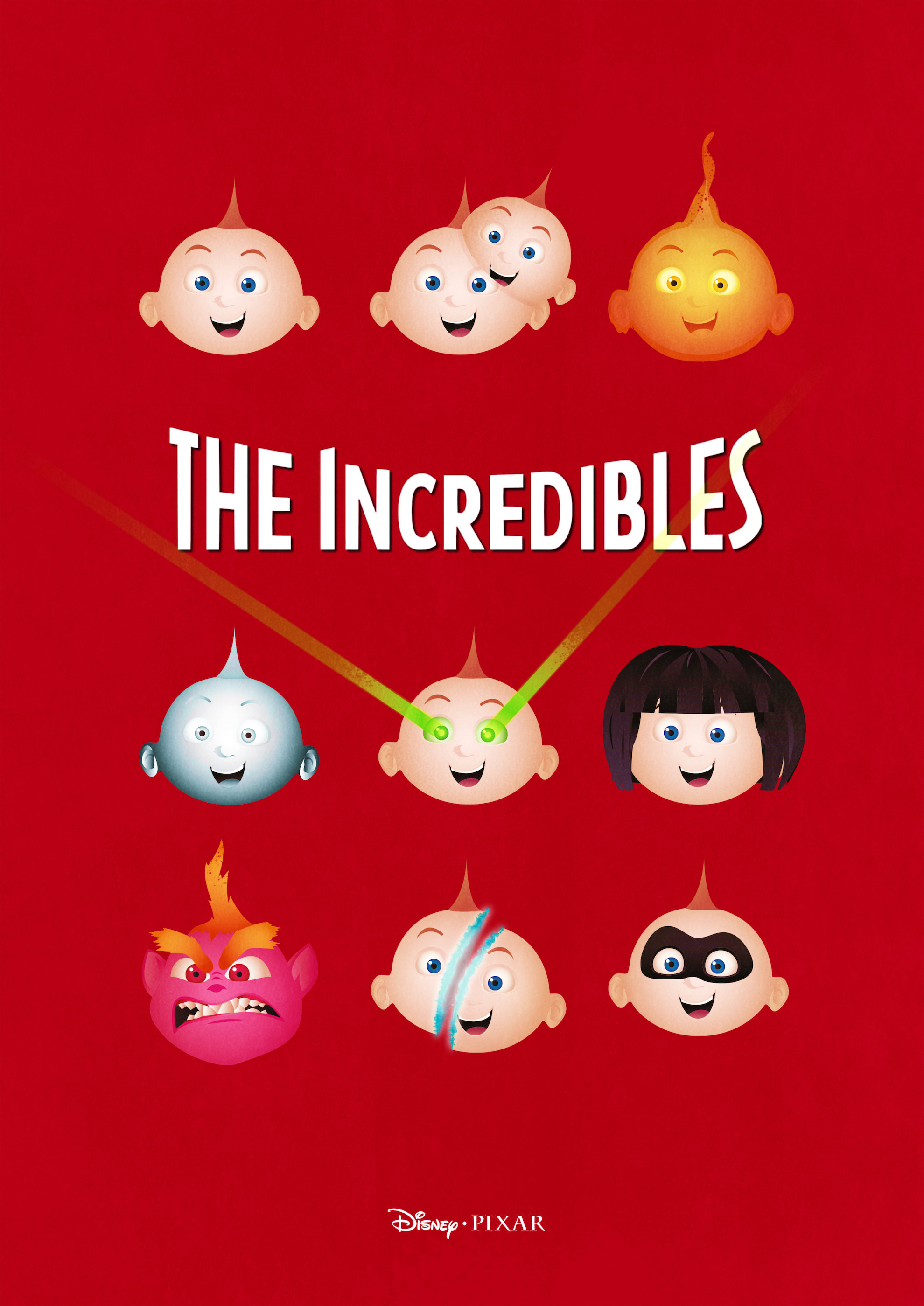 The Incredibles Alternative Movie Posters